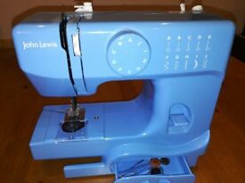 Blue Small Sewing Machine