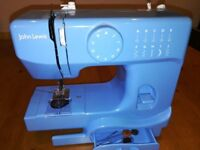 Blue Small Sewing Machine