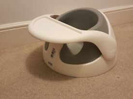 mamas & papas snug baby seat booster feeding chair with removable tray