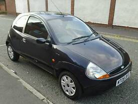 2008 FORD KA 1.3 IN BLACK GOOD CONDITION BARGAIN £795