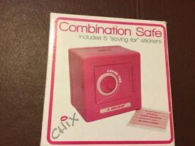 Pink Combination Safe