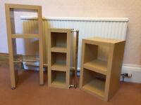 NEXT Bathroom Units/Shelves - Matching Set of 3