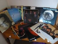 Classic Vinyl LP's from 50's - 1980's - including Rolling Stones, Beatles,Bob Dylan, Buddy Holly