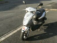 SYM SYMPLY 50CC,EXCELLENT,RELIABLE,TWIST & GO MOPED,£595,ONO, 50 CC