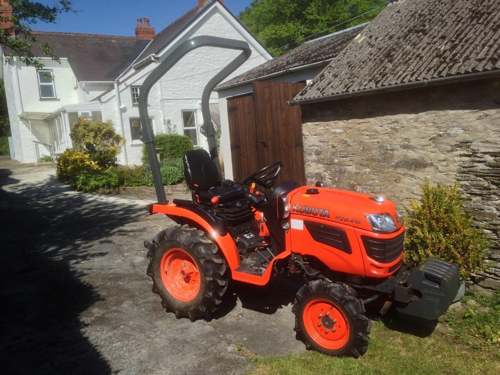 kubota b1620 compact tractor | in newcastle emlyn, carmarthenshire