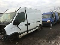Vauxhall movano van parts available