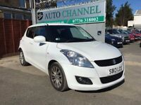Suzuki Swift 1.2 SZ4 Auto 5dr£6,445 p/x welcome 1 YEAR FREE WARRANTY. NEW MOT