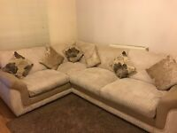 DFS Corner Sofa. Immaculate Conidition. Under 2 years old.