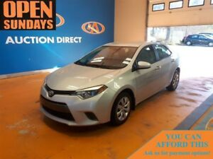 2016 Toyota Corolla CE! FINANCE NOW!