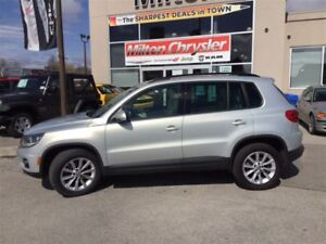2014 Volkswagen Tiguan HIGHLINE AWD|NAVIGATION|LEATHER|SUNROOF