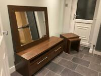 NEXT -Tv unit, mirror, nest of tables