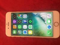 iPhone 6 16gb rose gold unlocked with charger