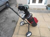 Men Right handed Golf clubs with Bag & trolley