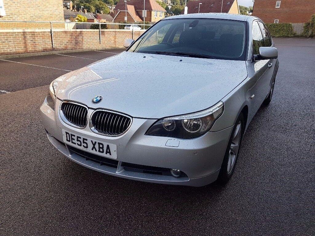 BMW 5 Series 2.5 525d SE 4dr,full dealer history,long mot