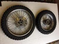 Wheels for husquvanna bike