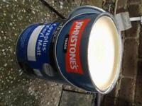 cream coloured matt paint