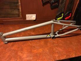 BMX and frame £50 Ono