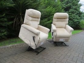 2 x Cosi-Chair Rise & Recline Mobility Chairs ** £600 for the pair **