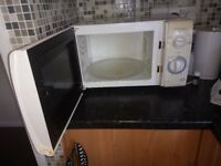 A good condition microwave