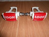 LOOK clipless pedals for road racing bike / retro / vintage bike.