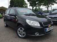 2009 09 Chevrolet Aveo 1.4 LT 5dr Automatic Petrol Low Miles