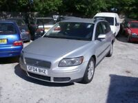 VOLVO V50DIESEL ESTATE, 11 MONTHS MOT,RUNS SUPERB,MANY EXTRAS, NEEDS A NEW CLUTCH !!!!