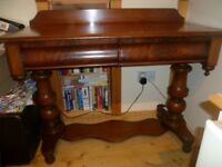 vintage solid wood dressing table solid wood.