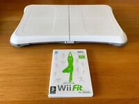Nintendo Wii Fit with Balance Board, in excellent condition
