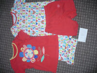 Bundle of 2 Summer pyjama sets for 6-7 years, 100% cotton. Excellent condition. Hardly worn.