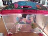"CHILDS ""MARINA"" AQUARIUM/FISH TANK/ AQUARIUM"
