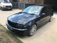 BMW E46 M3 Coupe Manual. Needs Head Gasket replacing.