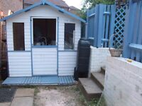 7 x 5 painted summer house one year old fantastic condition