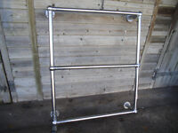 HEATED TOWEL RAIL, PLUMBED IN TYPE, TWO AVAILABLE