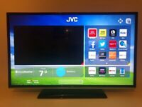 smart jvc 40 inch full hd 1080p led tv+like new+built in apps+wifi+remote+DELIVERY