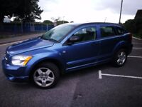 DODGE CALIBER 2007 AUTOMATIC BLUE - BREAKING FOR SPARES - ENGINE AND MORE