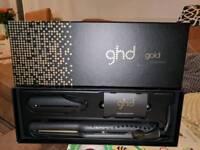 Genuine ghd slim straighteners gold mini styler