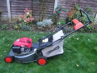Honda GCV160 petrol lawn mower