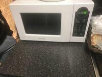 Daewood white microwave