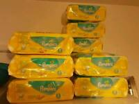 Nappies Pampers - Size 1 & 2 - total 505 nappies!