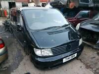 Breaking Mercedes Vito 1999 black turbo diesel 2.2 good engine 108