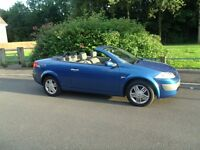 **2005 DIESEL CONVERTIBLE MEGANE **JUNE 2017 MOT** £699** DRIVES GREAT**