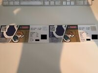 2 x NFL Tickets Indianapolis Colts vs Jacksonville Jaguars - 2 October 2016