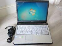 Large screen Toshiba EQUIUM P200.