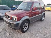 Suzuki Jimny 1.3 JLX+ 3dr, FULL SERVICE HISTORY. 1 PREVIOUS OWNER. LEATER SEATS. 2 KEYS. P.X WELCOME