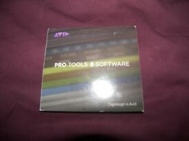 Pro Tools 8 , Music Production Software for Digidesigh and AVID Midi , USB , Audio Interfaces.