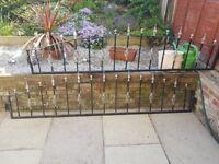 Rroht iron railings