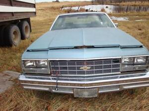 1977 CHEVROLET IMPALA not running