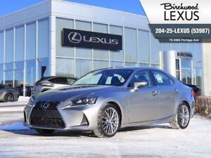 2017 Lexus IS 300 4dr Sdn AWD Luxury Package W/NAV