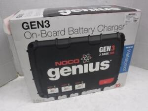 Noco Genius Gen 3 30 Amp Battery Charger. We Buy and Sell Used Goods. 115354 CH703404