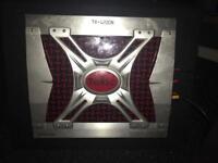 1200watts toxic 2/3/4 channel amplifier